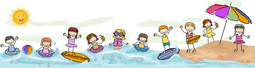Kids Swimming
