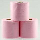 Rouleaux De Papier Toilette Rose Stock Photo And Royalty Free