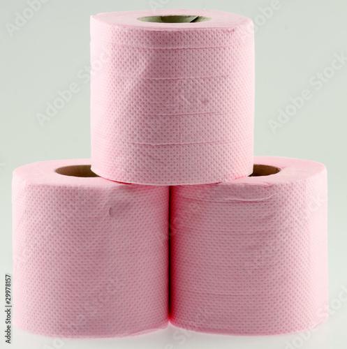 papier toilette rose photo libre de droits sur la banque d 39 images image 29978157. Black Bedroom Furniture Sets. Home Design Ideas