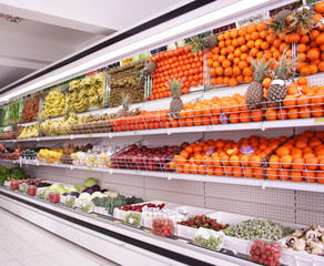 supermarket background
