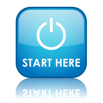 START HERE Web Button (internet power on website go click now)