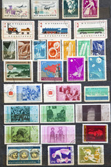 Used stamps from communist Bulgaria