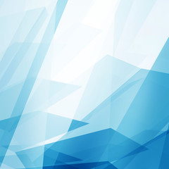Abstract Blue Clean Background with copyspace