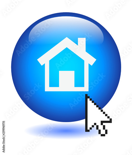 Go To Homepage >> Home Button Web Homepage Web Internet Website Welcome Start