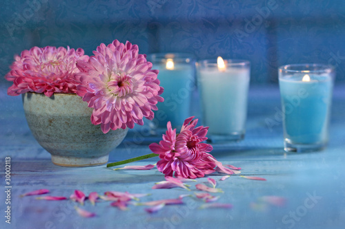 Flowers-and-candles