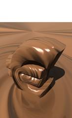 euro en chocolat
