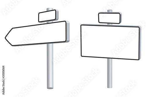 panneaux direction fichier vectoriel libre de droits sur la banque d 39 images. Black Bedroom Furniture Sets. Home Design Ideas