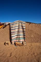 Traditional berber mud house