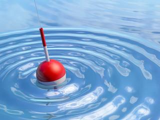 Galleggiante nell'acqua