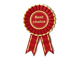 Red Ribbon Award labeled the best choice