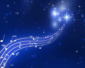 夜空と音楽