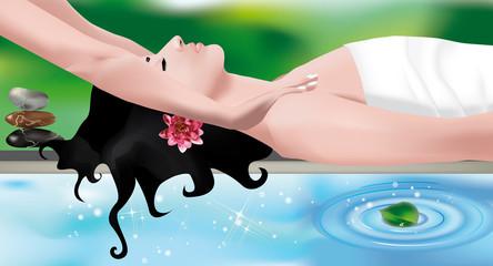 massaggio in spa