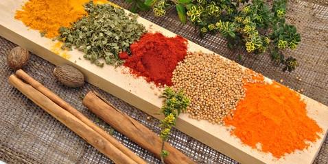 Especias aromaticas
