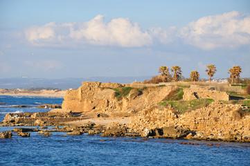 Caesarea seashore.