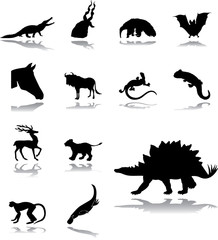 Set icons - 203. Animals