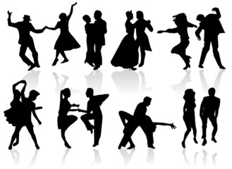 Couples Danseurs