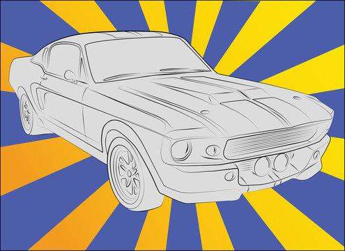 Shelby GT 500 eleanor 1967