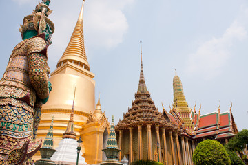 Wat Phra Kaew attractions..