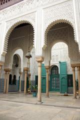 L'interno di una moschea marocchina