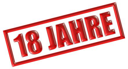 """Bilder und Videos suchen: """"schild 18 jahre"""""""