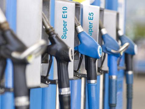 Tanken mit Biokraftstoff E10