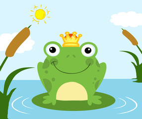 Illustration Of Frog Prince