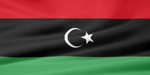 Flagge von Libyen - alt