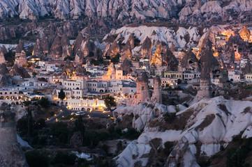 Goreme Village In Cappadocia