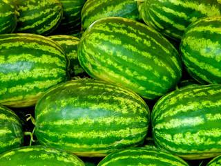 Green watermellons