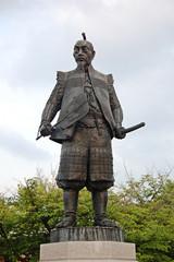 Statua bronzea generale giapponese