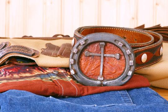 Cross Belt Buckle
