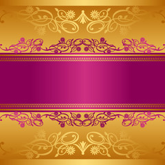abstract background frame pink