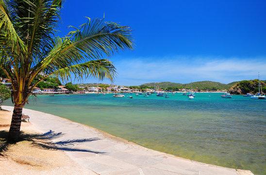 Beautiful beach of Buzios, Brazil