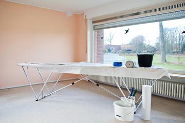 wallpaper table