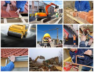 Bâtiment Construction travaux publics