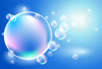 Background with bubbles