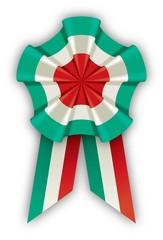 coccarda tricolore 150 - anniversary italian cockade