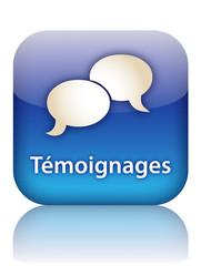 Bouton Web TEMOIGNAGES (vote avis opinions utilisateurs clients)
