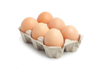 Jajka w pojemniku