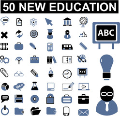 50 education signs