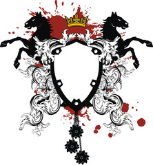 heraldic coat of arms ornament7