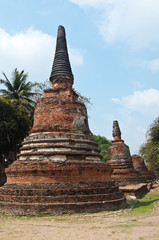 Old Temple of Ayuthata, Thailand