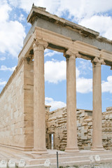 Ionic column of Propylaea, Acropolis