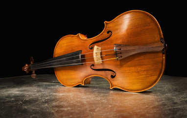 Old italian violin