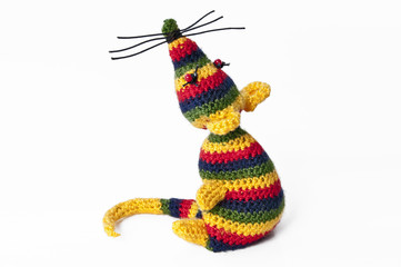 handmade toy Rasta mouse