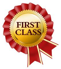 first class mit schleife