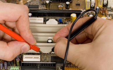 Printed circuit board diagnostics and measurement