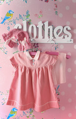 Baby clothes pink