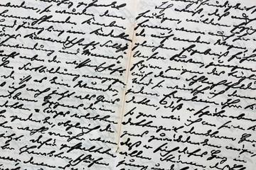 Alter Brief von Hindenburg