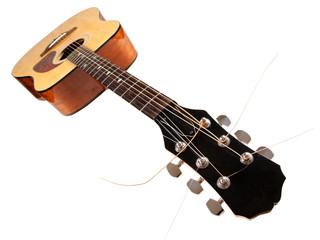 Wall Mural - Old guitar